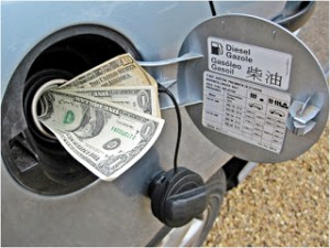 ガソリン お金
