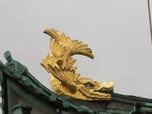 名古屋城 しゃちほこ