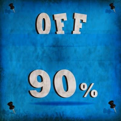 90% OFF! 楽天スーパーセール?いえいえ楽天銀行 1週間定期預金の金利です