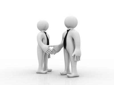 握手 提携